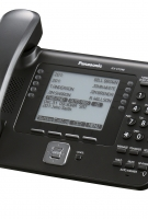 UT248 Business Black Telephone -Left View