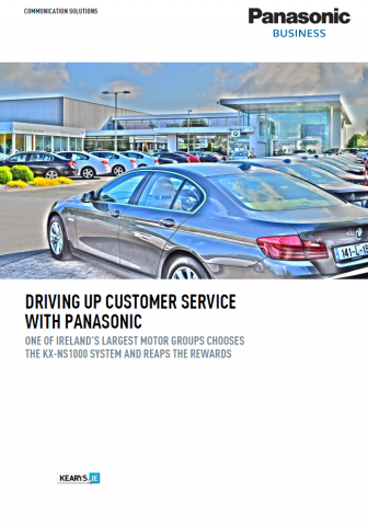 Case Study Driving Up Customer Service with Panasonic