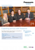 Case Study Expanding services with Panasonic