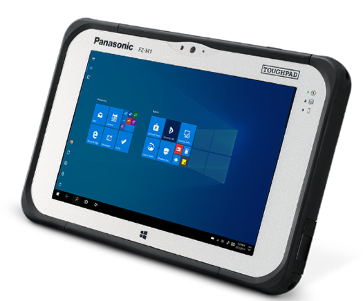 fully rugged TOUGHBOOK M1 sets the new benchmark for outdoor tablets making it ideal for field workforces in challenging environments
