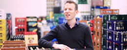 Otto Pachmayr - Modern warehouse management with TOUGHPAD FZ-G1 in beverage industry and stores