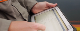 The Toughpad FZ-G1 enables the service technicians from Stedin to work more efficiently