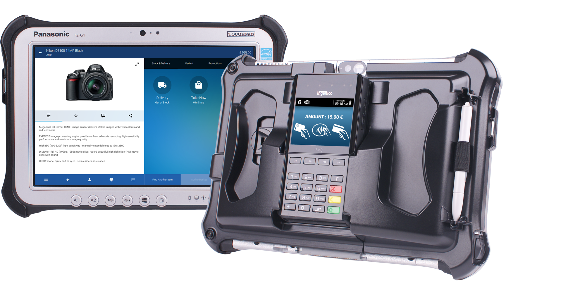 Panasonic introduces the first in a range of integrated Mobile Point