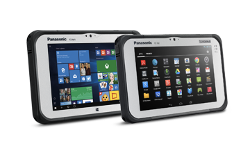 "7"" FZ-M1 and FZ-B2 Tablet"
