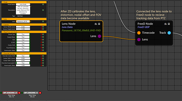 Using Zero Density Reality Engine™ with AW-UE150 for Virtual Studio applications