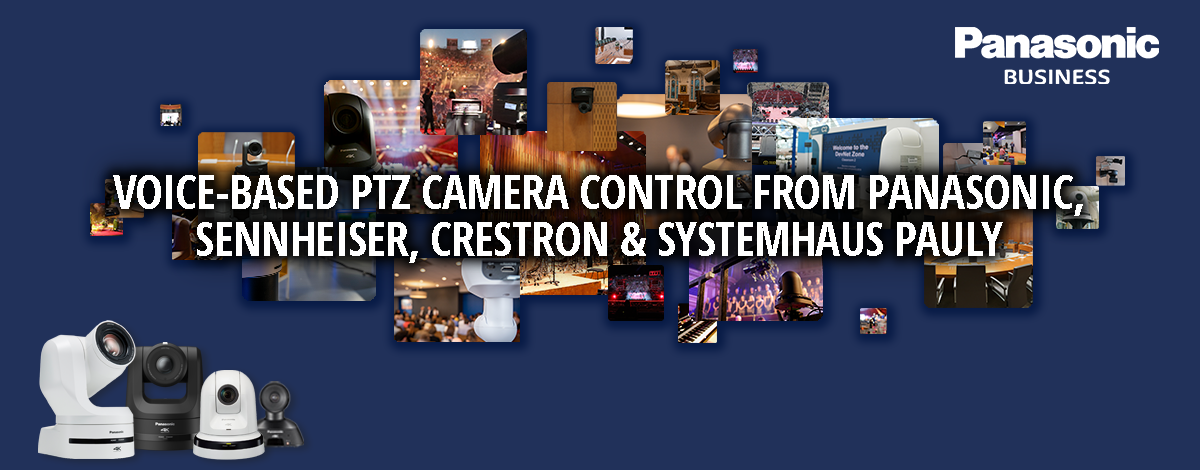 PTZ cameras and images in a collages