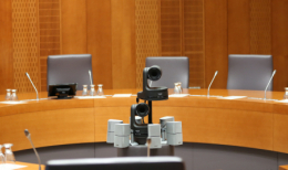 Panasonic Cameras in the Slovenian Parliament