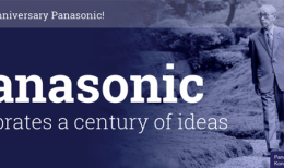 Panasonic Celebrates a Century of Ideas
