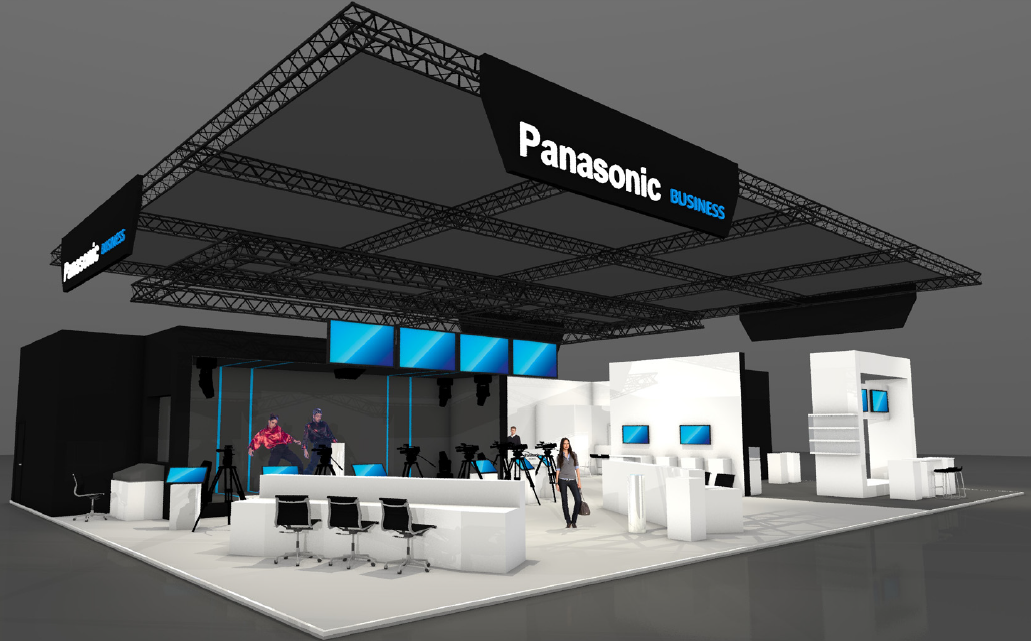 Panasonic @IBC2018 3D view Live.Sports.Entertainment Production
