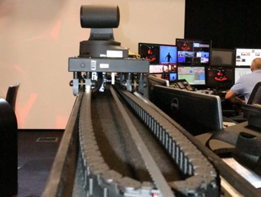 Tecnopoint Floor Track for Panasonic PTZ cameras
