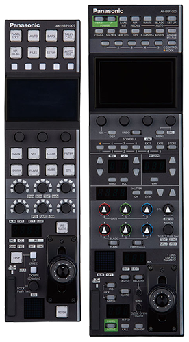 panasonic, professional camera, remote operation panel