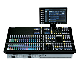 panasonic, professional camera, broadcast panel, control panel, switcher, mixer