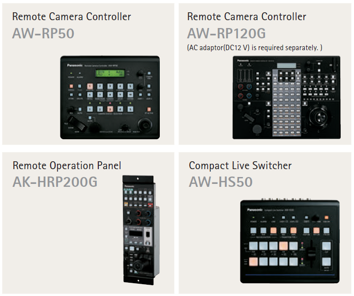 AW-HR140 System Controllers