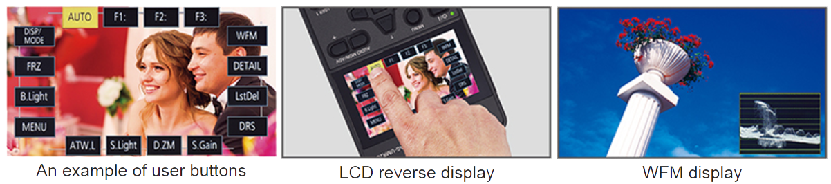 POVCAM Mobile Recorder Touch-Panel LCD Monitor