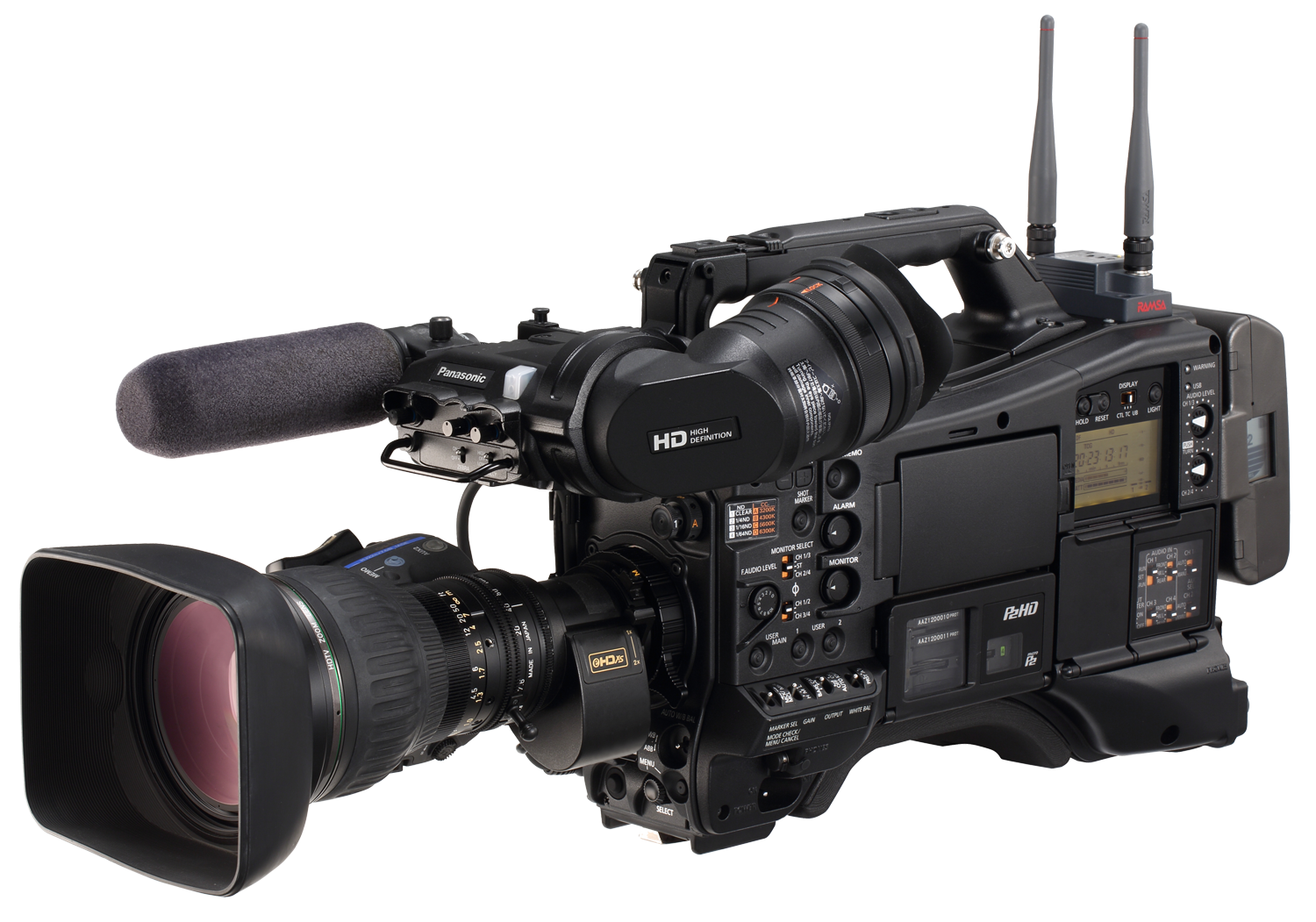 Aj px5000 professional camera solutions - Tv in camera ...