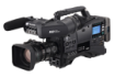 A light 2/3 type shoulder mount P2HD camera recorder with versatility built-in AutoFocus lens