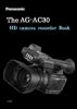 The AG-AC30 HD Camera Recorder Book
