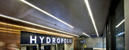 Hydropolis: water world created with technology