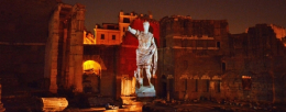 The Forum of Augustus: virtual reconstruction with Panasonic