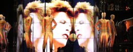 "Panasonic videomapping adds stardust to ""David Bowie Is"" experience"