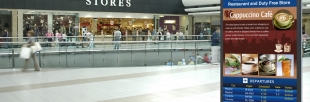 Access control solutions for shopping mall