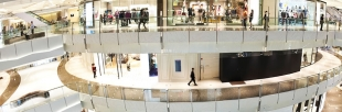 Heating and cooling solutions for shopping mall