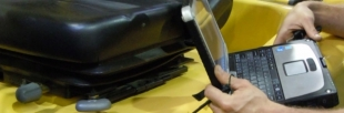 Barloworld Technicians - Toughbook in Action