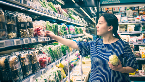 supermarkets and convvenience