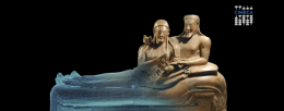 Sarcophagus of the Spouses _ Museum of the history of Bologna