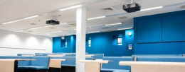 Creating collaborative learning spaces at Loughborough University