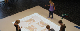 WizeFloor_Interactive floor makes motion magic in schools