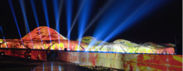 Projection Artworks choose Panasonic's brightest laser projectors for the tallest projection mapping show ever undertaken.