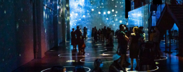 Using projection mapping technology to bring art to life