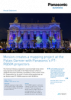 Mvision creates a mapping project at the Palais Garnier with Panasonic's PT-RQ50K projectors