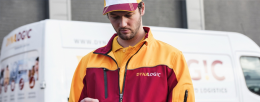 Dynalogic couriers are on the road with the Toughpad FZ-M1