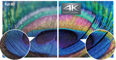 Stunning Panasonic 4K Quality Right Down to the Details