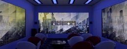 EY relies on Panasonic displays at the CFOspace in Eschborn.