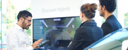 Toyota brings new digital retail concept to showrooms with the help of Panasonic displays
