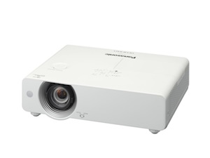 Panasonic reveals world 39 s first high brightness compact for Worlds smallest hd projector