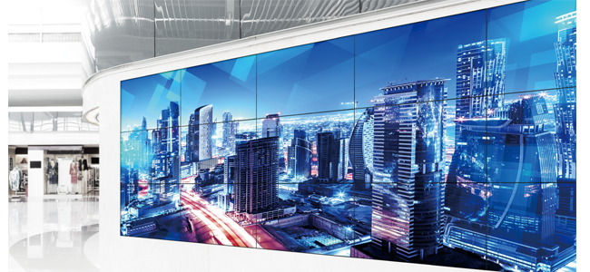 Th 55lfv8 Multi Display Video Wall Screens For Digital