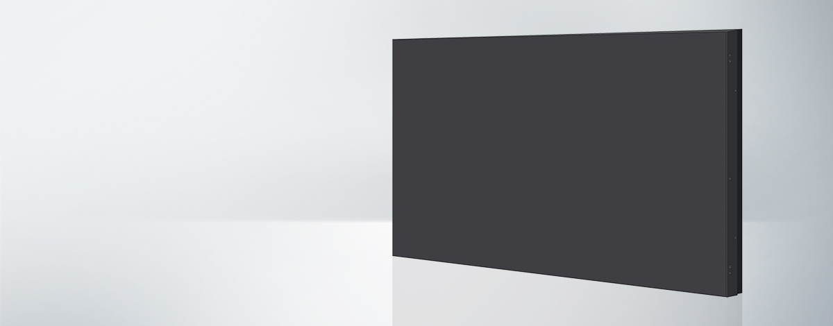 Thin bezel video wall display, Panasonic
